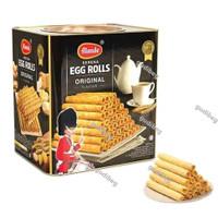 Monde Serena Egg Roll biscuit Original 300gr Kue Kering Kaleng cookies