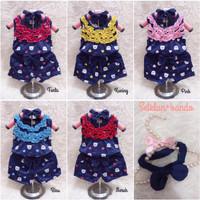 Pakaian Setelan Bayi Perempuan Usia 6-12 Bulan-an + Gratis Bando