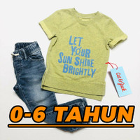 Baju Kaos Anak Cowok Laki Laki Toddler Kids Branded Import Original