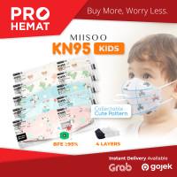 PROHEMAT EVO Anak Motif KN95 Masker Kesehatan wajah Kids 4ply BNPB
