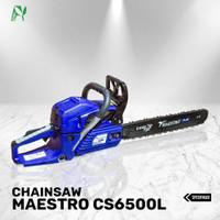 Chainsaw Maestro CS6500L Bar Laser 22Inchi (55 Cm)