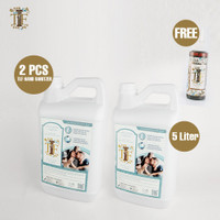 Paket 2 pcs TLF Hand Sanitizer 5 Liter FREE 1 pcs TLF Beauty Water