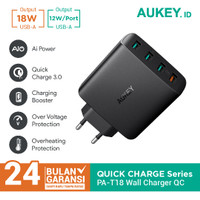 Aukey Charger PA-T18 4 Ports 42W QC 3.0 & AiQ - 500225
