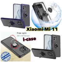 case Xiaomi Mi 11 HYBRID iring Stand Clear ring mi11 soft hybrid ring