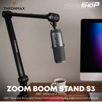 Thronmax Zoom Boom Stand S3 - Arm Stand Microphone Stand Mic