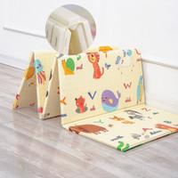 Karpet Lipat Anak Bayi Tebal 200x180cm Matras Lipat Bahan Foam PlayMat