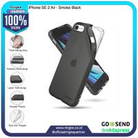 Ringke iPhone SE 2 / 8 / 7 Air Smoke Black Casing Softcase Anti Crack