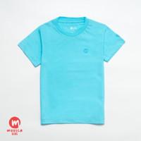 MOOSCA KIDS Andy Tshirt Kaos Anak Warna Turkis Muda