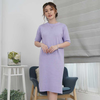 Autumn Knit Dress Beatrice Clothing - Knit Midi Dress