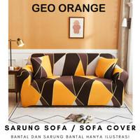 Elastic Sofa Cover Pattern / Sarung Penutup Sofa Elastis Stretch Corak
