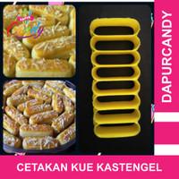 DapurCandy - Cetakan kue kering Kastengel Cookie Cutter Lokal