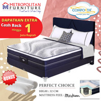 Comforta Spring bed Perfect Choice (Full Set) 180x200