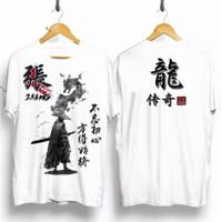 T-shirt Samurai Zhang / Baju Kaos Distro Pria Wanita Kaos Samurai