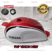 Tangki Cat Pnp Vixion New Custom injeksi Motif White Red