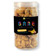 BANANA BARE CHIPS WITH PINK SEASALT [JAR] -- #100%raw #natural