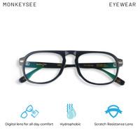 Bostrom piano black Monkeysee Eyewear kacamata anti blue ray anti uv