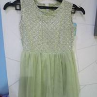 Baku dress anak batik tutu murah