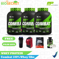 MP COMBAT 100% WHEY 5LBS MUSCLE PHARM WHEY PROTEIN - Chocolate