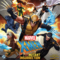 X-Men: Mutant Insurrection ( Original ) Board Game - TBG