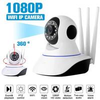 CCTV Wifi IP Camera 2MP HD 1080P 3 Antena Wireless IP Kamera Q5S