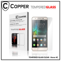 Huawei Honor 4C - COPPER TEMPERED GLASS FULL CLEAR