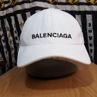 Topi Balenciaga second with tag bahan katun