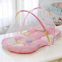 kasur Lipat Kelambu Bayi / kasur Kelambu set / tempat tidur bayi