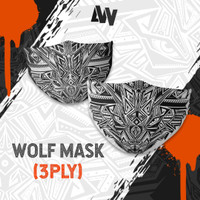 WOLF MASK 3PLY