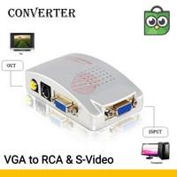 Converter VGA To RCA & S-Video