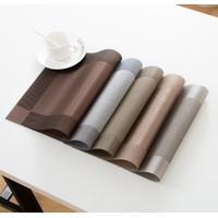 Tatakan Piring Bahan PVC Modern Mudah Dicuci Rumah Tangga & Hotel