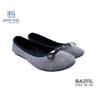 Porto - Sepatu Wanita Flatshoes Balet Nyaman Casual Original BA211L