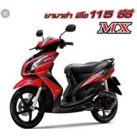 Striping Mio Soul Mx 2010 Merah
