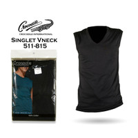 Crocodile Singlet 511-815 Kaos Dalam Pria T-Shirt V-neck - 1 PCS