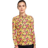 Opelon Pakaian Renang Wanita - Ladies Long Sleeve Top Flower Roy