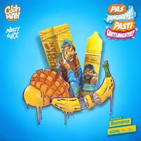 CUSHMAN MANGO BANANA LOW MINT by Nasty Juice