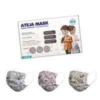 Masker Ateja Mask Batik Edition 3 ply Premium Quality SNI Standard WHO