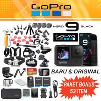 GoPro HERO9 Black - GoPro HERO 9 Black 5K - Ultra Smooth Paket Bonus