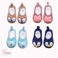 PREWALKERS BABY SHOES 3D KARAKTER / SEPATU BAYI LUCU IMPORT - Light Blue Bear, S (0-12 bulan)