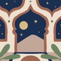 Paint by Number Kit Bartega: Ramadan Edition (Masjid&Gurun)