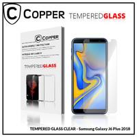 Samsung J6 Plus 2018 - COPPER TEMPERED GLASS FULL CLEAR