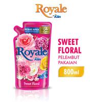 Royale Pelembut Pakaian Sweet Floral 800 ml