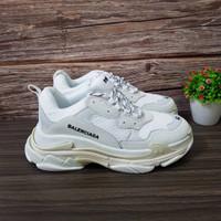 Sepatu Balenciaga Triple S Triple White Premium Original