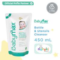 Babymax Baby Safe Bottle and Utensils Cleanser Refill 450 ml