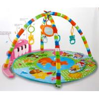 Mainan Edukasi Bayi Piano Fitness Rack - Mainan Baby Playmat