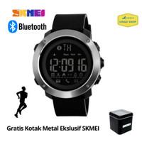Jam Tangan SKMEI Pria Sport Digital Smartwatch Bluetooth - 1285/1287 - Hitam, Kecil