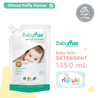 BABYMAX Baby Safe Detergent Laundry Ecopack Refill 1350 ml