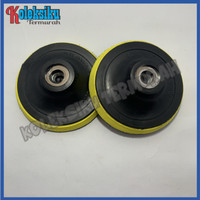 Tatakan Amplas Velcro 4 Inch / Bantalan Amplas Bulat Velcro 4