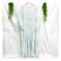 Homedress Clodia Gamis Rumah Baju Tidur Panjang Rayon Viscose LD 110