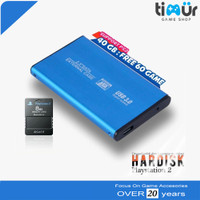 Harddisk Hardisk HDD Eksternal PS2 Support Semua PS2 Full Game 40GB