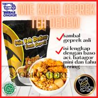 Mie Kuah Sambel Sambal Geprek Teh Dedew Baso Aci Makanan Khas Bandung